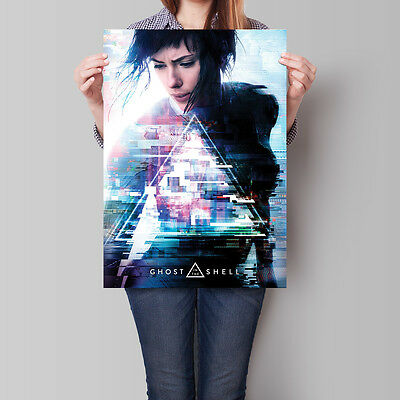 Ghost in the Shell Poster The Major Scarlett Johansson 16.6 x 23.4 in (A2)