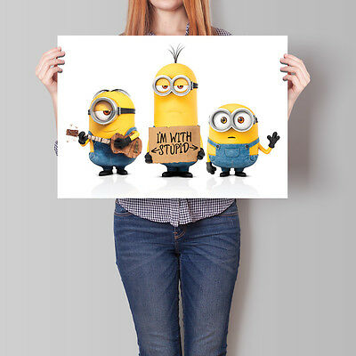 Despicable Me 2 Movie Poster 2013 Minions Animation Film 16.6 x 23.4 in (A2)