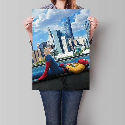 Spider-Man: Homecoming Movie Poster 2017 Tom Holland 16.6 x 23.4 in (A2)