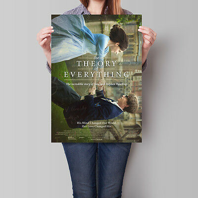The Theory of Everything Movie Poster 2014 Redmayne Jones 16.6 x 23.4 in (A2)