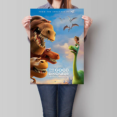 The Good Dinosaur Movie Poster 2015 Pixar Arlo Spot Butch 16.6 x 23.4 in (A2)