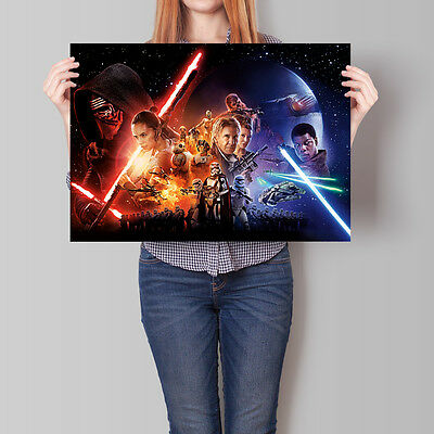 Star Wars: The Force Awakens Movie Poster 16.6 x 23.4 in (A2)