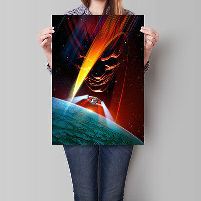 Star Trek Insurrection Poster 1998 Movie Wall Art 16.6 x 23.4 in (A2)