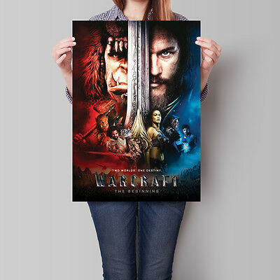 Warcraft The Beginning Movie Poster 2016 Film 16.6 x 23.4 in (A2)