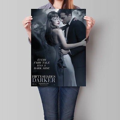 Fifty Shades Darker Movie Poster 2017 Film Promo 16.6 x 23.4 in (A2)
