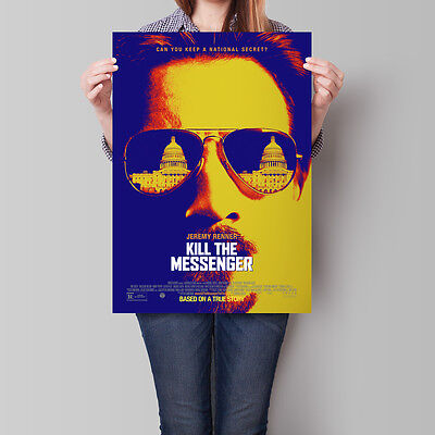 Kill The Messenger Poster 2014 Movie Jeremy Renner 16.6 x 23.4 in (A2)