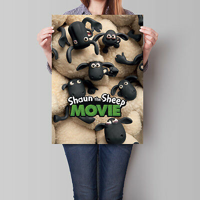Shaun the Sheep Movie Poster 2015 Film 16.6 x 23.4 in (A2)