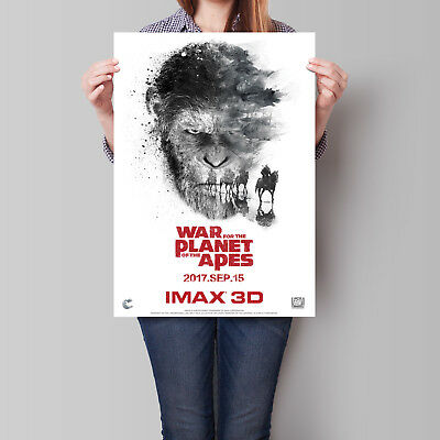 War for the Planet of the Apes Movie Poster IMAX 16.6 x 23.4 in (A2)