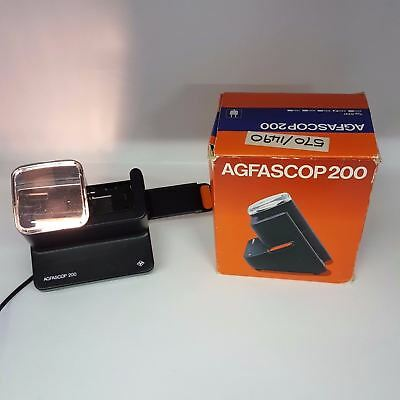 Agfascop 200 Electric Multi-slide Viewer Projector Type 6741