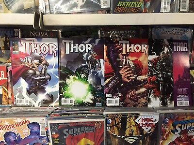 Thor #604 - #610 1st Prints Marvel Comics