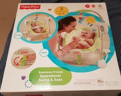 Fisher Price Spacesaver Swing and Seat