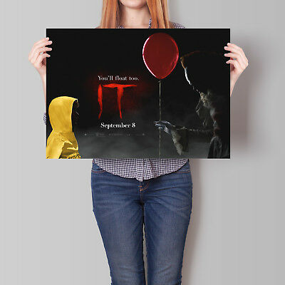 It Movie Poster 2017 Film Horizontal Promo 16.6 x 23.4 in (A2)