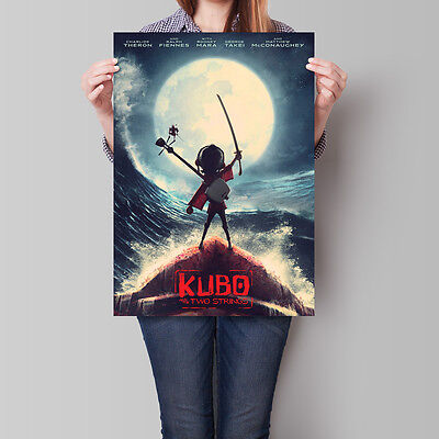 Kubo and the Two Strings Poster 2016 Movie Wall Art 16.6 x 23.4 in (A2)