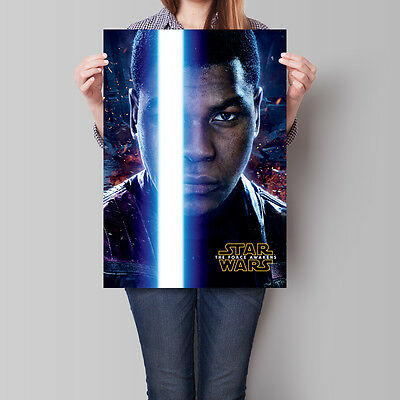 Star Wars The Force Awakens Movie Poster Finn 16.6 x 23.4 in (A2)