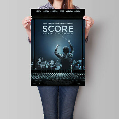 SCORE A Film Music Documentary Poster 16.6 x 23.4 in (A2)