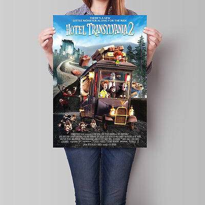 Hotel Transylvania 2 Movie Poster 2012 Film Promo 16.6 x 23.4 in (A2)