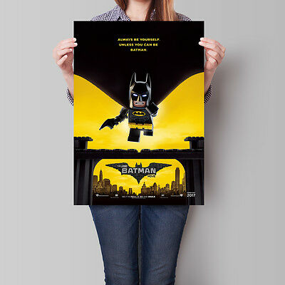 The Lego Batman Movie Poster 16.6 x 23.4 in (A2)