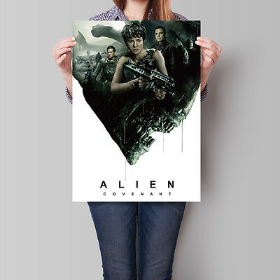 Alien Covenant Movie Poster Ridley Scott 2017 16.6 x 23.4 in (A2)