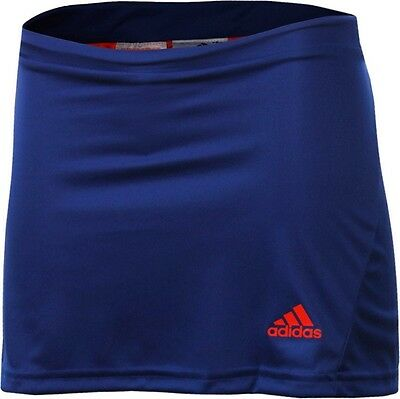 Adidas G78037 adiZero Skirt, color: ink blue, inner shorts-red