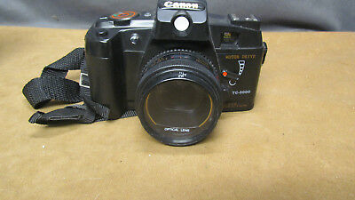Vintage Canon 35mm Film Camera TC-5000 w/Self Timer