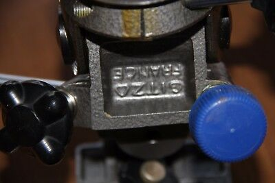 Vintage GITZO R. No. 3 Pan Tilt Tripod Head Made in France. Functions Well