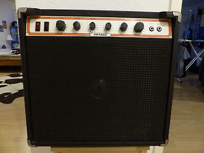 ULTRA RARE black vintage 1979 Orange Hustler OR135 1x12 combo Overdrive