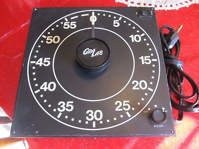 GraLab Model 310, 60 Minute Photography and Darkroom Timer Lab Photo Vintage