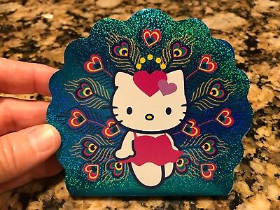 NEW Hello Kitty Sanrio Peacock Notepad