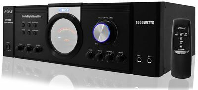 1000W Home Digital Stereo Audio Power Amplifier Portable 4 Channel Amplified TV