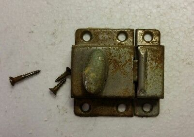 Vintage Old Metal Cabinet Cupboard Latch With Catch    (2025)