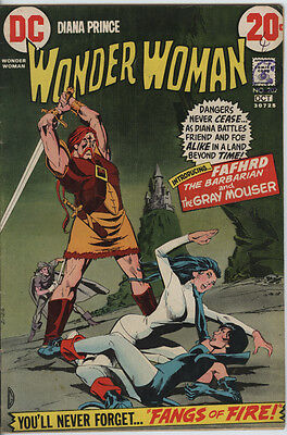 Wonder Woman Issue 202 From 1972 Scarce 1st appearance Fafhrd & Gray Mouser
