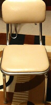 Vintage Dining Table Chair - 50's and 60's Retro Style...has been recovered!