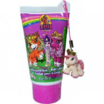 Wholesale Filly Unicorn Hand / Body Lotion For Kids With Charm Horse Party Bags