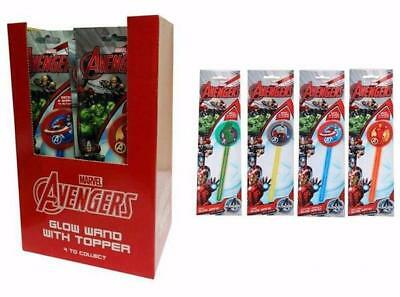 Wholesale Marvel Avengers Glow Wands + Toppers Sticks Comic Book Hero Party Bags