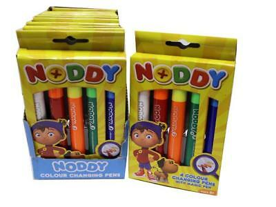 Wholesale 12 / 48 Noddy Colour Changing Pens With Magic Pen Kids Party Bag Fun