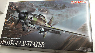 """DRAGON 5015 Do335A-12 Anteater """"Golden Wings Series"""" 1:72 OVP"""