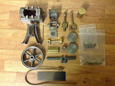 Stuart 10V vertical steam engine - Set of castings, papers and book