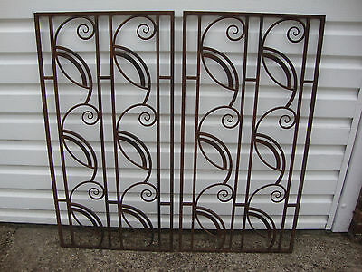 Decorative Wrought Iron Window Grills/Gates