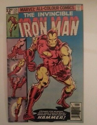 Invincible Iron Man #126 VF/NM first hammer