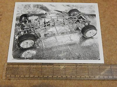 """TVR 420 SEAC rolling chassis press photo (UK - 1986) 8½"""" x 6½"""""""