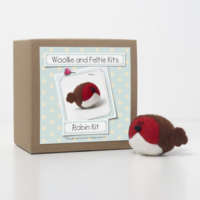 Robin Needle Felting Kit