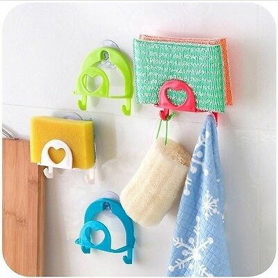 Sponge Holder Suction Cup Convenient Home Kitchen Holder Gadget Decor Tools