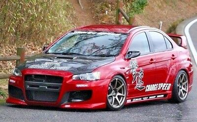 RC 1/10 Car DRIFT Decals CHARGE SPEED LANCER EVO Drift  Decals Stickers  *NEW*