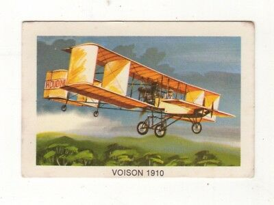 Tip Top Bread - Great Sunblest Air Race Cards.Voison 1910