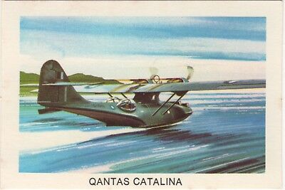 Tip Top Bread - Great Sunblest Air Race Cards.Qantas Catalina