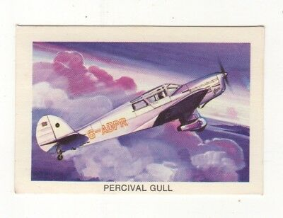 Tip Top Bread - Great Sunblest Air Race Cards.Percival Gull