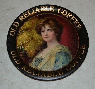 Old Reliable Coffee Tip Tray 4 1/4""