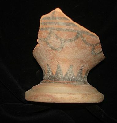 EBAY BEST!  CHALICE CUP SHARD FROM EARLY BRONZE AGE~~3000BC  ANCIENT archaeolgy