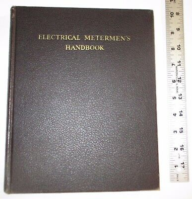 Electrical Meterman's Handbook 5th Edition 1940 Edison Electric Institute