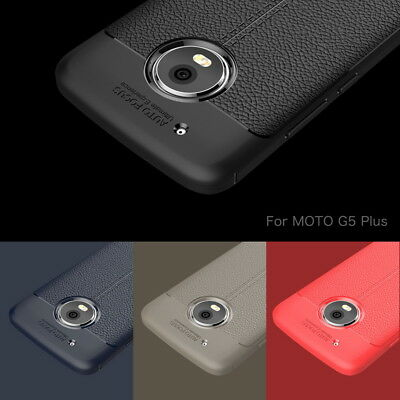For Motorola Moto X4 G5s Z2 Play Shockproof Leather Skin Soft Rubber Case Cover